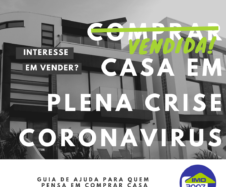 Comprar casa em plena crise coronavirus